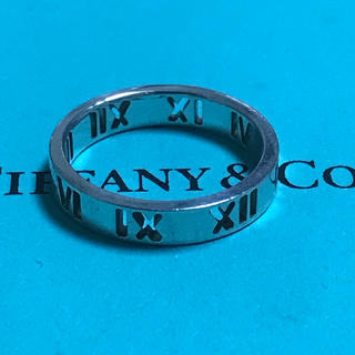 ティファニー(Tiffany & Co.)のティファニー アトラス リング ナロー シルバー925 9号 レディース 指輪(リング(指輪))