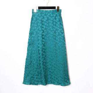 GRACE CONTINENTAL - GRACE CONTINENTAL♡シルクサテンジャガードスカート