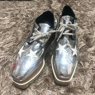 ステラマッカートニー(Stella McCartney)のステラマッカートニー シルバー(ローファー/革靴)