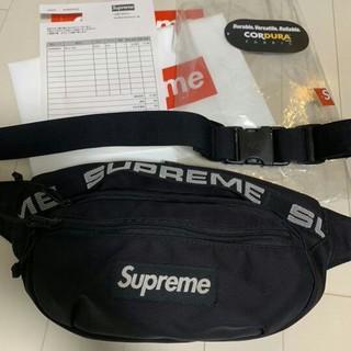 Supreme - Supreme 18ss Waist Bag Black