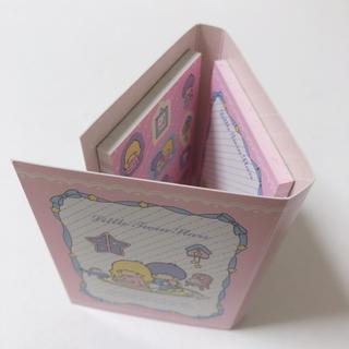 サンリオ(サンリオ)のサンリオ☆キキララ ブックがたメモ リボン#(ノート/メモ帳/ふせん)