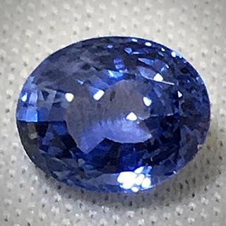 《宝石⚜️ルース》極美品☪️天然ブルーサファイヤ ルース 1.784ct 鑑別付(リング(指輪))