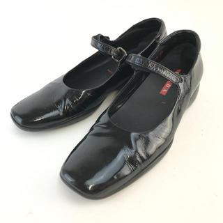 プラダ(PRADA)の❤️セール❤️ プラダ PRADA パンプス レディース 靴 23cm ブラック(ハイヒール/パンプス)