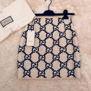 Gucci - 新品 グッチ GGツイードスカート