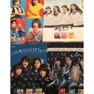 ノギザカフォーティーシックス(乃木坂46)の乃木坂クリアファイル8枚セット(女性タレント)