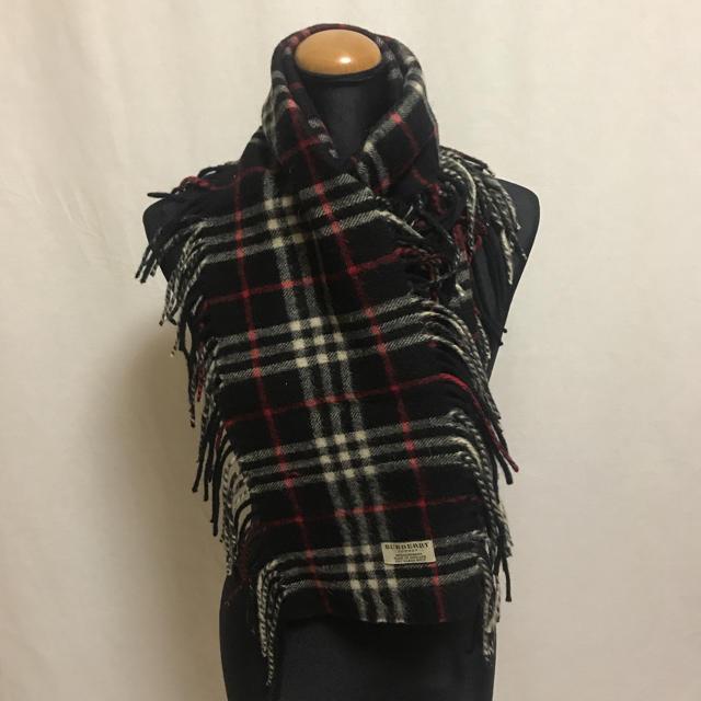 BURBERRY(バーバリー)のバーバリー ロンドン カシミヤ100% マフラー レディースのファッション小物(マフラー/ショール)の商品写真