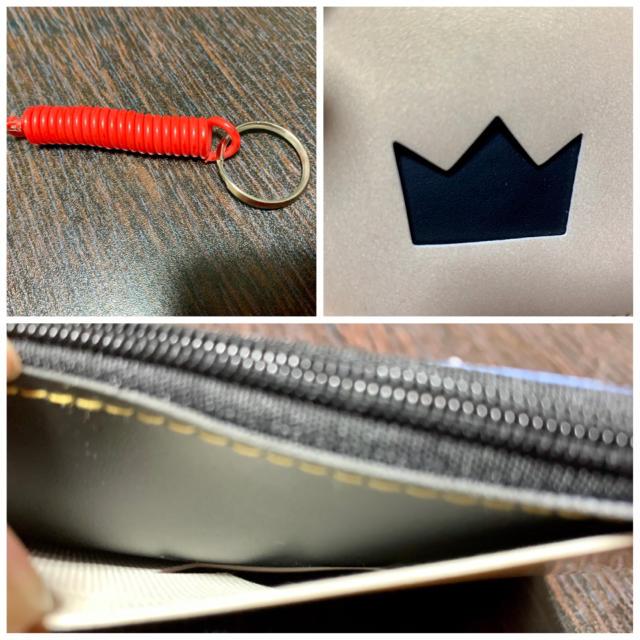 ハローキティ(ハローキティ)の【非売品】ROUND1×Hello Kitty パス&コインケース レディースのファッション小物(コインケース)の商品写真