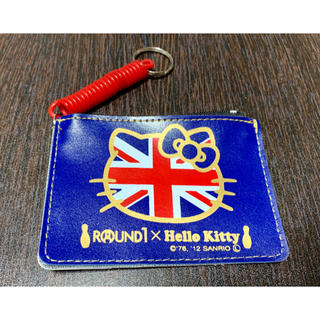 ハローキティ(ハローキティ)の【非売品】ROUND1×Hello Kitty パス&コインケース(コインケース)