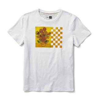 ヴァンズ(VANS)のVans Vincent Van Gogh SUNFLOWERS Tee(Tシャツ/カットソー(半袖/袖なし))