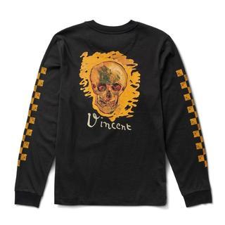 ヴァンズ(VANS)のVans Vincent Van Gogh SKULL L/S Tee(Tシャツ/カットソー(七分/長袖))