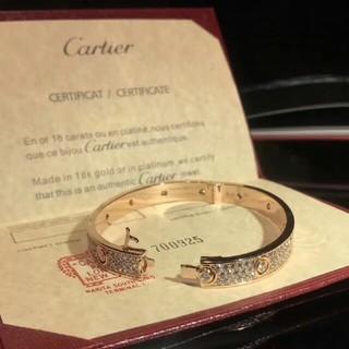 カルティエ(Cartier)のCartier カルティエ ラブブレス (ブレスレット/バングル)