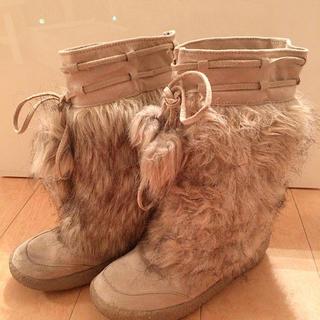 フェイクファー ブーツ(ブーツ)
