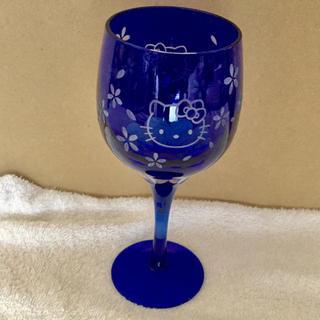 サンリオ(サンリオ)のハローキティ 切子 ワイングラス (グラス/カップ)