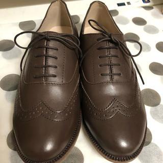 サマンサモスモス(SM2)の本革 靴 Mサイズ(ローファー/革靴)