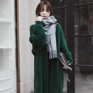 新作 韓国ファッション 人気沸騰 ミディアム丈  ウォーターベルベット