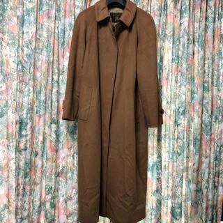バーバリー BURBERY ロングコート カシミヤ  キャメル コート 高級