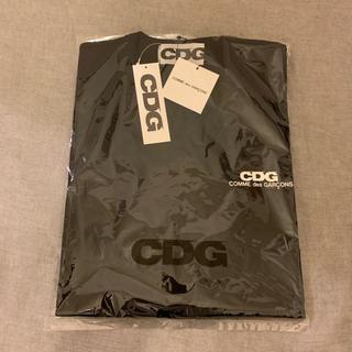 コムデギャルソン(COMME des GARCONS)の最新作19AW コムデギャルソンCDG T-shirt 新品未使用タグ付き 黒(Tシャツ/カットソー(半袖/袖なし))