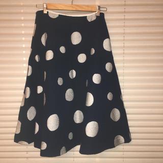 ミナペルホネン(mina perhonen)のミナペルホネン  snow light  スカート 40(ロングスカート)