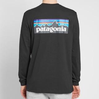 パタゴニア(patagonia)のXSサイズパタゴニア ロングスリーブtシャツ  P-6ロゴ レスポンシビリティー(Tシャツ/カットソー(七分/長袖))