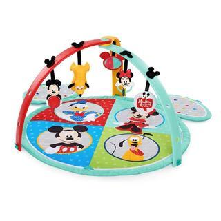ディズニー(Disney)の【処分価格】Disney ディズニー ミッキーマウス・イージーストアプレイマット(ベビーサークル)