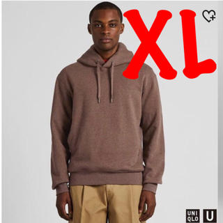 ユニクロ(UNIQLO)の【XLサイズ】UNIQLO U スウェットプルパーカ パープル ユニクロユー(パーカー)