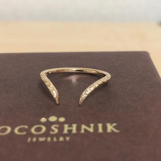 ココシュニック(COCOSHNIK)のココシュニック    ダイヤモンド k10  (リング(指輪))