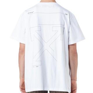 オフホワイト(OFF-WHITE)のOFF-WHITE  オーバーサイズロゴTシャツ 希少XS(Tシャツ/カットソー(半袖/袖なし))