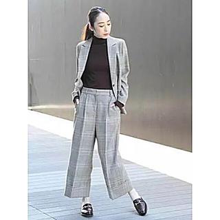 Demi-Luxe BEAMS - AW デミルクスビームス  グレンチェックジャケット サイズ38 新品
