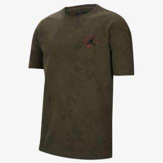 ナイキ(NIKE)の NIKE TRAVIS SCOTT オリーブ XSサイズ(Tシャツ/カットソー(半袖/袖なし))
