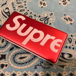 シュプリーム(Supreme)のsupreme シュプリーム mobile battery  モバイルバッテリー(バッテリー/充電器)