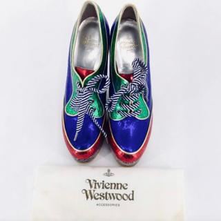 ヴィヴィアンウエストウッド(Vivienne Westwood)のヴィヴィアンウエストウッド ランウェイ デッドストック Sサイズ35(ハイヒール/パンプス)