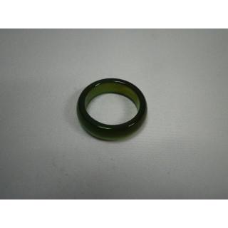 L2-19●パワーストーン●天然石メノウ指輪●瑪瑙 めのう●14号リング●(リング(指輪))