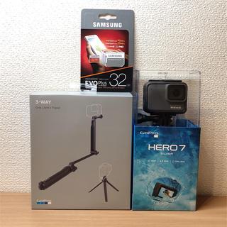 GoPro - GoPro HERO7 Silver3Way + microSDカード 32GB
