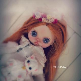 ❁❀YUKI*doll ✿✾カスタムプチブライス ブライス(人形)