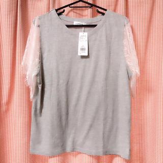 レプシィム(LEPSIM)のレース袖Tシャツ(Tシャツ(半袖/袖なし))