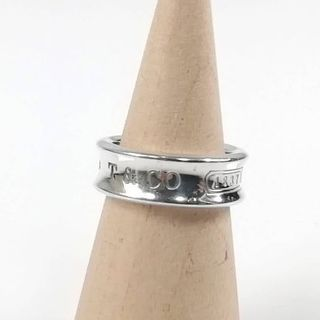ティファニー(Tiffany & Co.)の美品 ティファニー シルバー ナロー リング ZM73(リング(指輪))