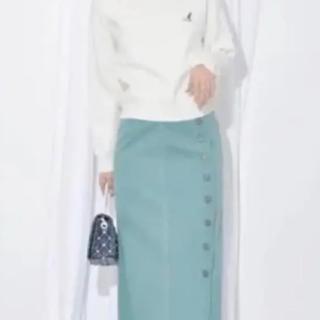 ココディール(COCO DEAL)の【ココディール 】タイトロングスカート2019年今期(ロングスカート)