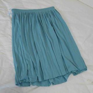 ユニクロ(UNIQLO)のUNIQLO ユニクロ プリーツスカート(ひざ丈スカート)