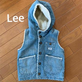 Lee - Lee デニムベスト ボア キッズ