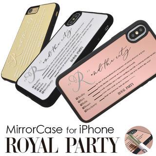 ロイヤルパーティー(ROYAL PARTY)のROYAL PARTY❤︎iPhoneミラーケース(iPhoneケース)