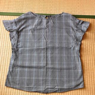 ジーユー(GU)のGU トップス チェック(シャツ/ブラウス(半袖/袖なし))
