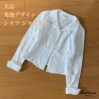 ベルメゾン - 【美品】高品質セミオーダー⦅美デザイン★シャツ ジャケット⦆ベルメゾン