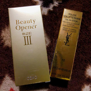 イヴサンローランボーテ(Yves Saint Laurent Beaute)のオージオ ビューティーオープナー美容液とサンローランの口紅(美容液)