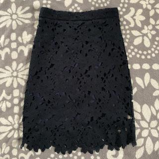シマムラ(しまむら)のレーススカート(ひざ丈スカート)