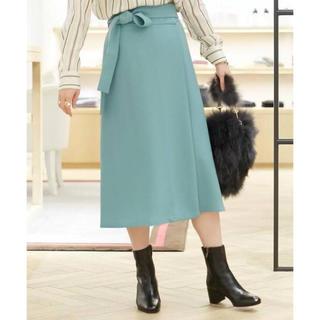 TOMORROWLAND - ballsey♡ポリエステルベルテッドラップスカート