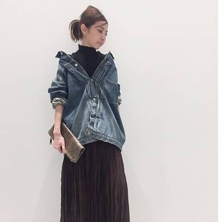 L'Appartement DEUXIEME CLASSE - STAMMBAUM OVERSIZE DENIM JACKET38