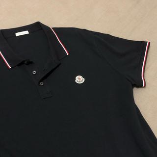 MONCLER - MONCLER モンクレール  ポロシャツ  XL ネイビー