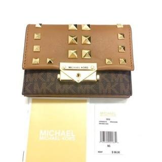 マイケルコース(Michael Kors)の新品未使用 マイケルコース 折財布(財布)