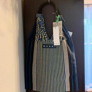 Marni - 《新品 タグ付き》マルニマーケット ハンモックバッグ イエロー ブルー