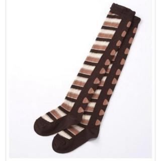 シャーリーテンプル(Shirley Temple)の新品シャーリーテンプル ニーハイソックス3点セット(靴下/タイツ)